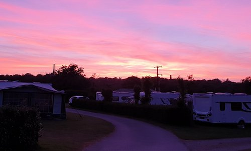 Spectacular sunset at Chacewater Park