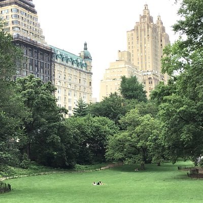 The Eldorado overlooks the park from Central Park West