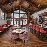 Comfortable, inviting restaurant interior