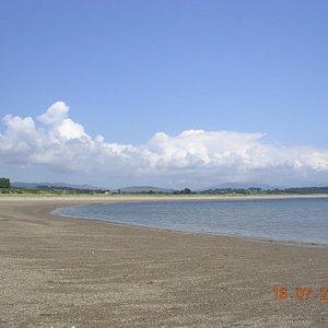 Glan-y-Don Beach by Pwllheli Marina