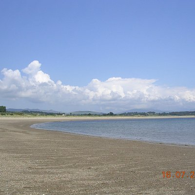 Glan-y-Don Beach by Pwllheli Marina