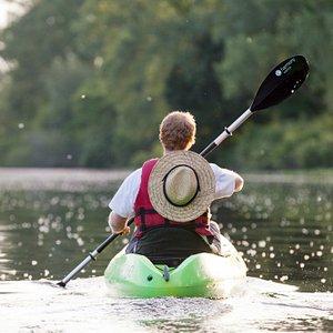 We love kayaking the Paw Paw River in St. Joseph/Benton Harbor.