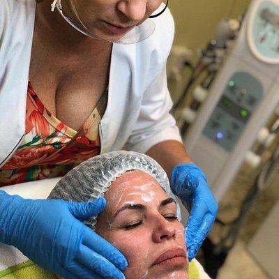 Servicio de limpieza facial