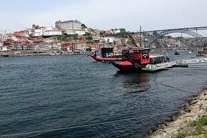 The river from Vila Nova de Gaia