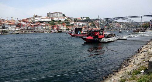 The river from Vila Nova de Gaia