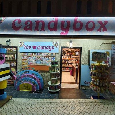 Candy box platanias Crete