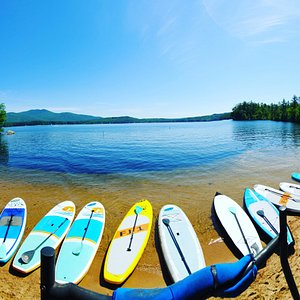 Group paddleboard lessons