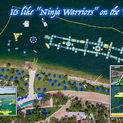 Waterloo Adventures- It's like Ninja Warriors on the water!