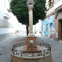 Escultura de Nuestra Senora del Rocio