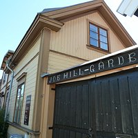 Joe Hill-gården i Gamla Gävle i Gävle