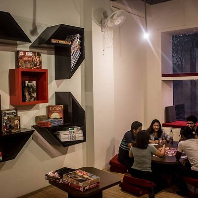 first ever indoor recreational place in India. Unlike any normal cafe here you can truly be yourself and get everything catered including recreation to food