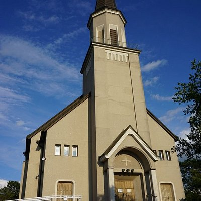 The church of Hanko (Hangö)