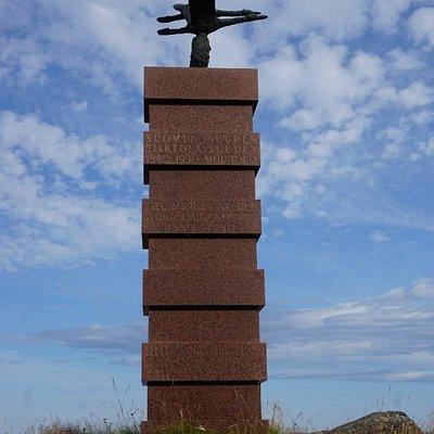 Siirtolaismonumentti (The Emigration Monument) in Hanko