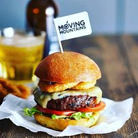 Our 'Moving Mountains' 100% plant based burger