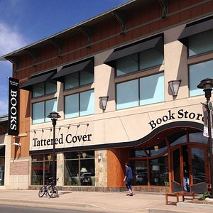 Tattered Cover Aspen Grove store front.