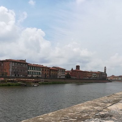 Ponte della Fortezza, Пиза, июль.