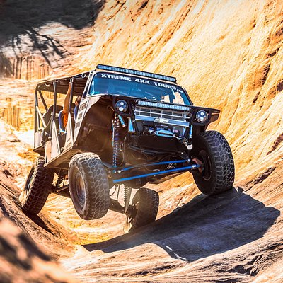 going up hells gate with xtreme 4x4 tours in moab