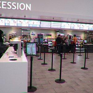 Entering in the Landmark Cinemas 8 St Albert