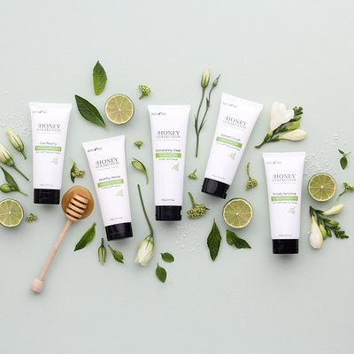 A small sample of our delicious, natural skincare.