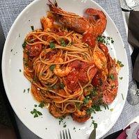 Spagetti & Meerfruchten