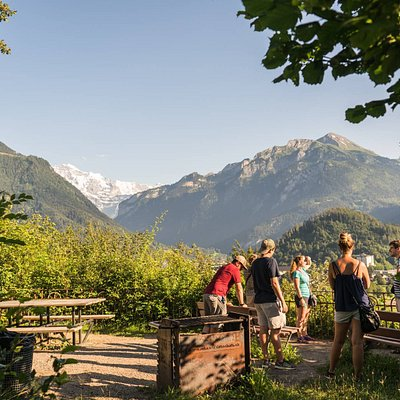 Join our local guides on a Free Walking Tour and experience Interlaken like a local.
