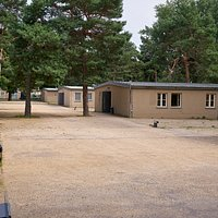 The barracks of the former forced labourer camp GBI 75/76 in Berlin. Now: Nazi forced labour documentation Center.
