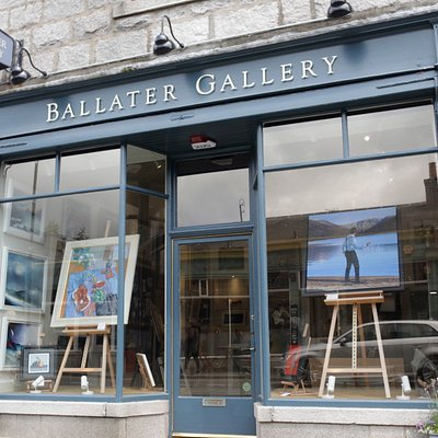 The Ballater Gallery Shopfront