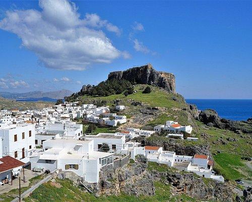 Lindos Village and Acropolis