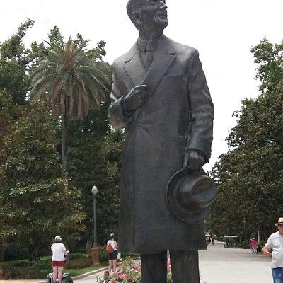 Estatua Anibal Gonzalez