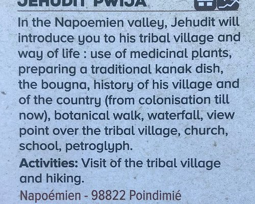 """Listing from """"Tribal Accommodation and Activities in the Northern Province"""""""