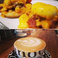 Delicious specialty coffee and Food