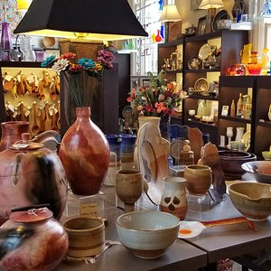 There is a huge variety of hand-crafted items in this location in the Biltmore Village.  Even if you don't purchase anything, the trip inside to 'look around' is worth the effort.