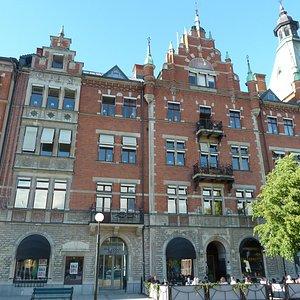 Hirschska huset i Sundsvall