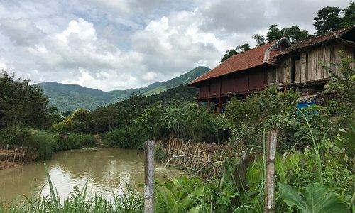 Mountain village above Dien Bien Phu