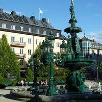Vängåvans Fontän i parken Vängåvan i Sundsvall