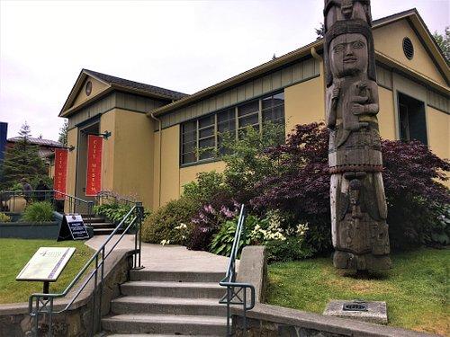 The Four Story Totem Pole.