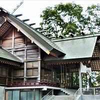 信濃神社~7(拝殿と本殿)