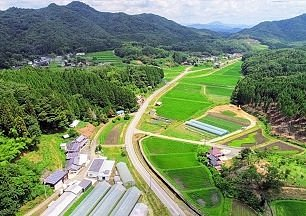 the view of TANABE FARM