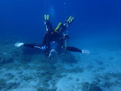 Great buoyancy skills