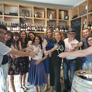 Amazing group of wine lovers