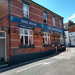 The Bicton Arms exterior