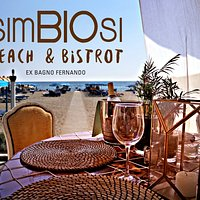 Simbiosi Beach & Bistrot on the beach