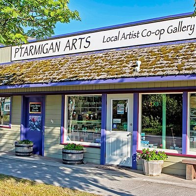 Ptarmigan Arts, conveniently located on Pioneer Avenue in beautiful downtown Homer, Alaska.