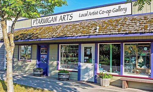 Ptarmigan Arts, conveniently located on Pioneer Avenue in beautiful downtown Homer, Alaska.