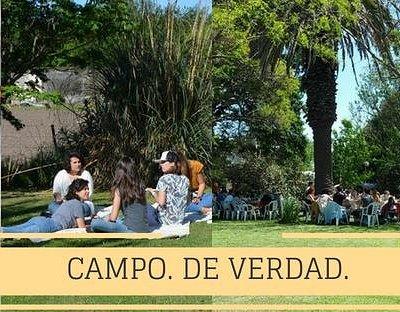 Campo. De verdad