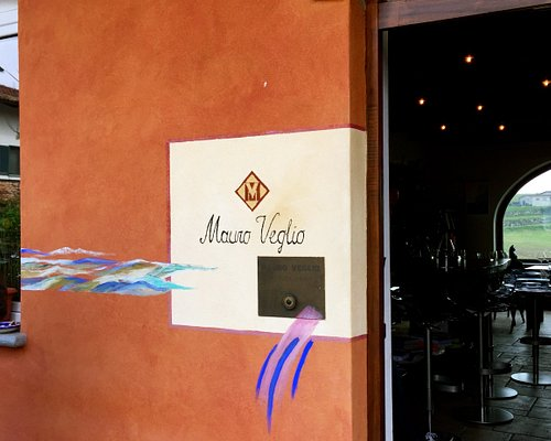 Entrance to the wine tasting room