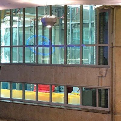 Le Centr'Halles Park vu depuis la mezzanine des salles 20 à 23 de l'UGC Ciné Cité Les Halles