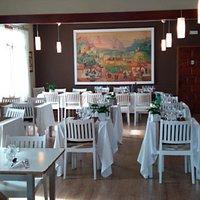 El salón de La Llena Restaurante