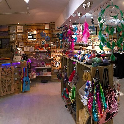 A little twirl around the shop - it's a constantly changing panorama as we get new stock from our local traders :)