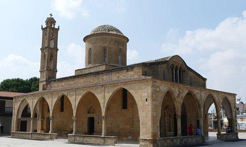 View of Agios Mamas Church